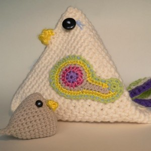 Mama Chicken Crochet Pattern