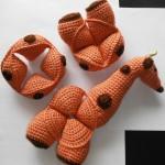 Crochet Giraffe Puzzle Amamani