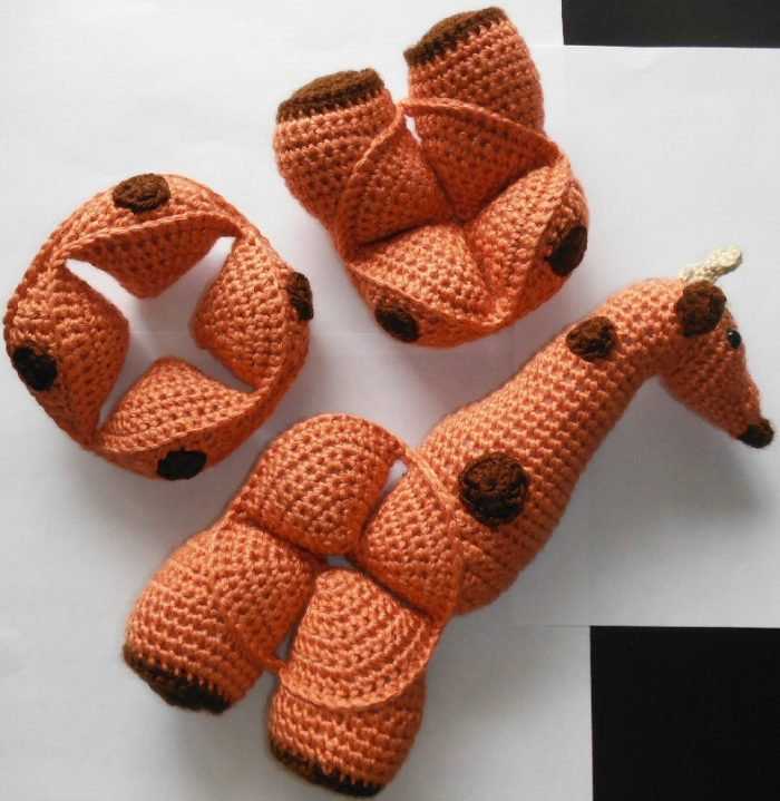 Amigurumi Puzzle Animals : Gemina: Crochet Giraffe Puzzle ? Look At What I Made