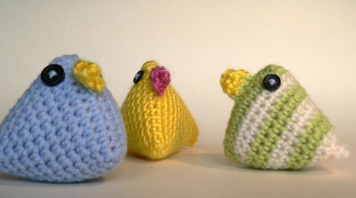 Crochet Easter Chicks