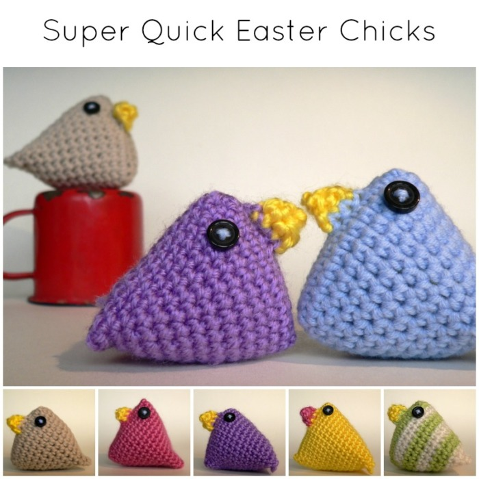 Super Quick Easter Chicks Crochet Easter Chicks Look At What I Made