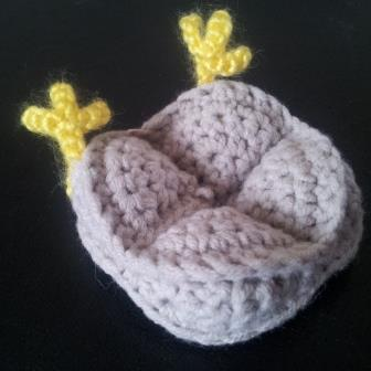 Crochet Kiwi Amish Puzzle Ball