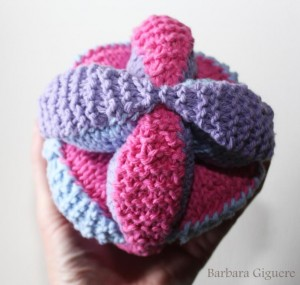 Knit Amish Puzzle Ball Pattern