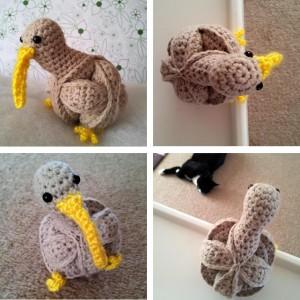 Crochet Kiwi Puzzle