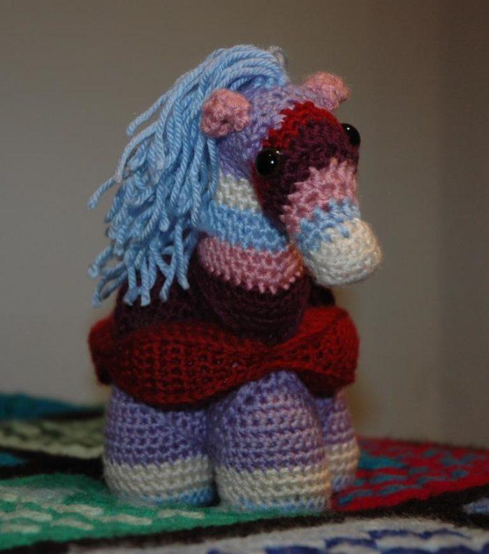 Amy Affleck Hermione Horse Crochet Pattern
