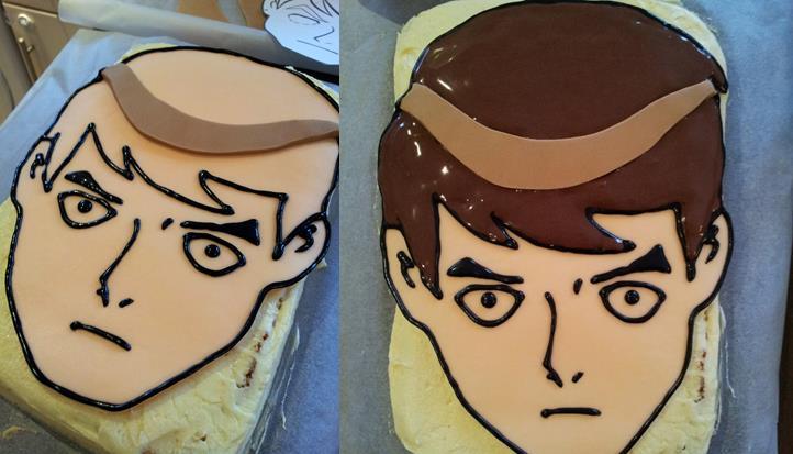 Ben 10 Cake Tutorial