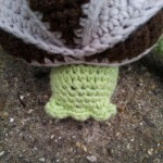 Crochet Turtle Puzzle Pattern