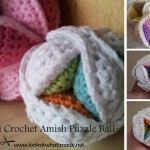 Mini Crochet Amish Puzzle Ball Pattern