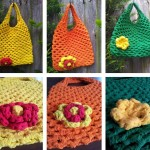 Crochet Mesh Bag Pattern for Beginners