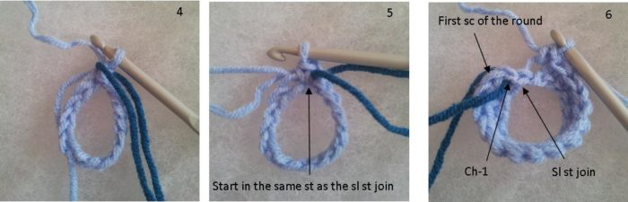 Crochet:  join in the round