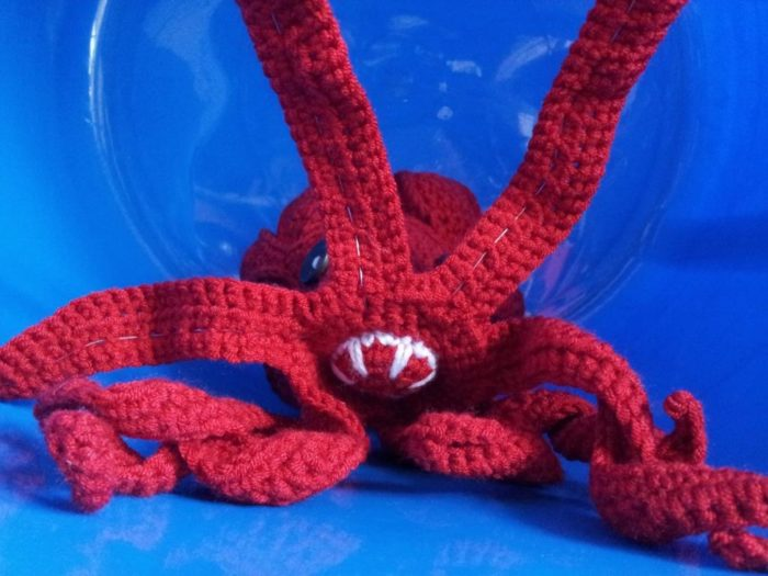 Free Pattern Crochet Octopus : Olive - Crochet Octopus Puzzle ? Look At What I Made
