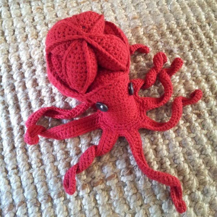 Crochet Octopus Puzzle Pattern (Amamani)