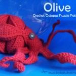 Olive – Crochet Octopus Puzzle