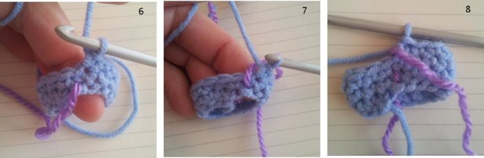 Crocheting In The Round Tutorial : ... of a pattern written for crocheting in the round in this way would be
