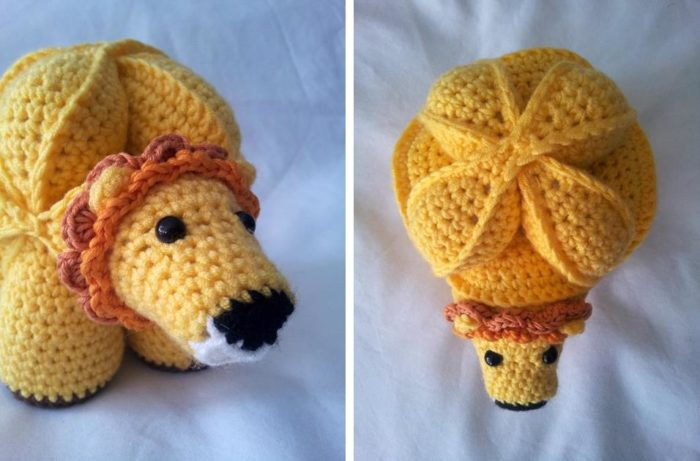 Brill the Crochet Lion Puzzle Pattern Giveaway:  Brill the Crochet Lion Puzzle