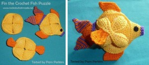 Fin the Crochet Fish Puzzle Assembly 300x131 Fin the Crochet Fish Puzzle Pattern
