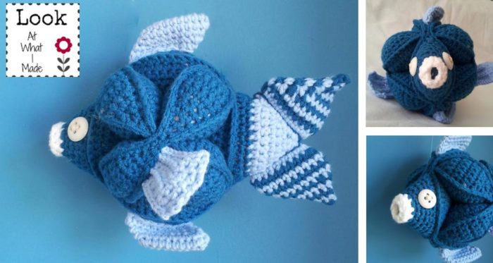 Fin The Crochet Fish Puzzle Pattern Look At What I Made