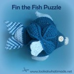 Fin the Crochet Fish Puzzle Pattern