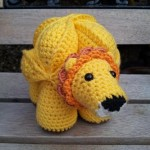 Brill the Crochet Lion Puzzle