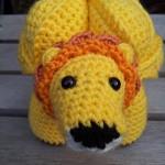 Brill the Crochet Lion Puzzle Pattern Amamani