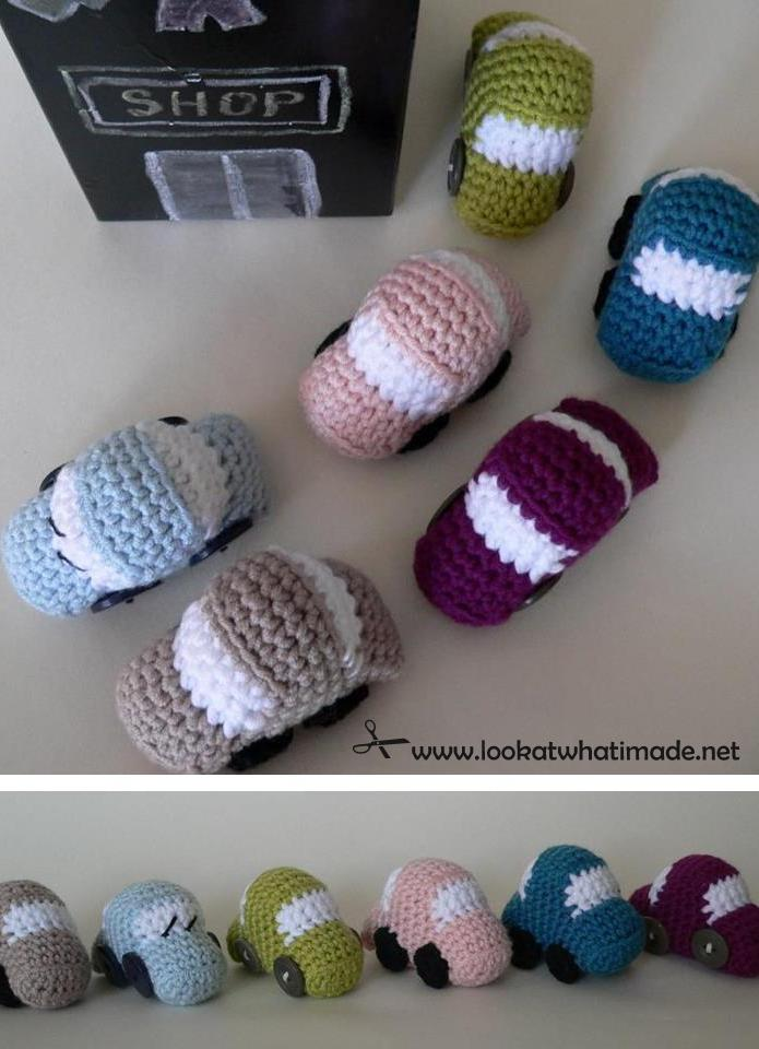 Free Crochet Patterns For Your Car : Tiny Crochet Cars {Free Pattern} ? Look At What I Made