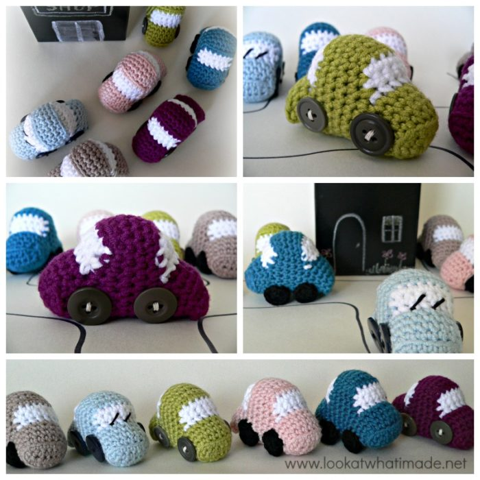 Tiny Crochet Cars Crochet Pattern