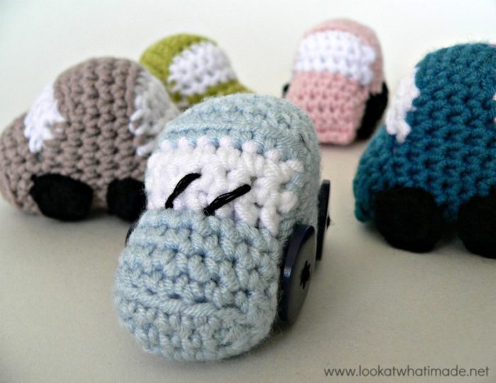 Tiny Crochet Cars Pattern