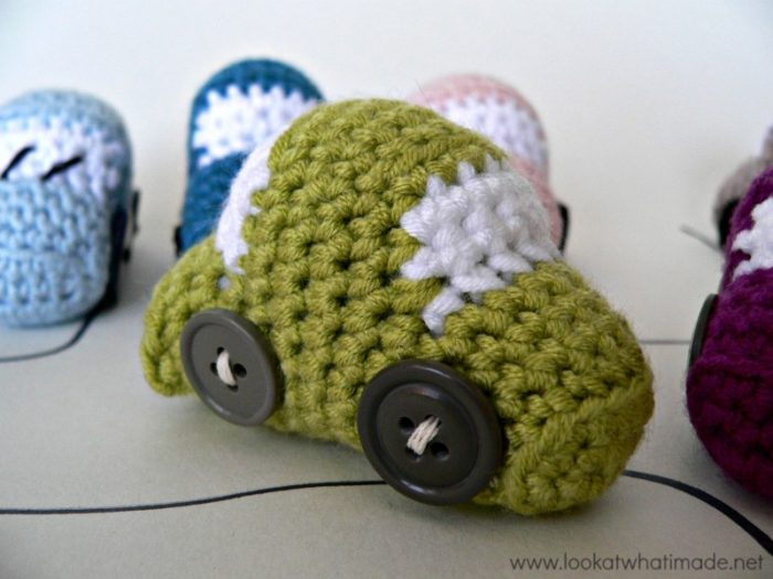 Cars Crochet Pattern