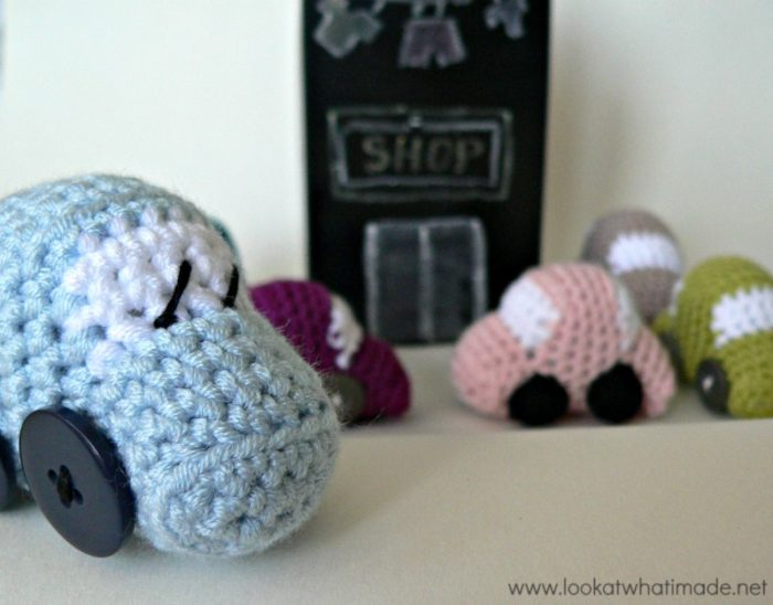 Tiny Crochet Cars Pattern 5 Tiny Crochet Cars {Free Pattern}