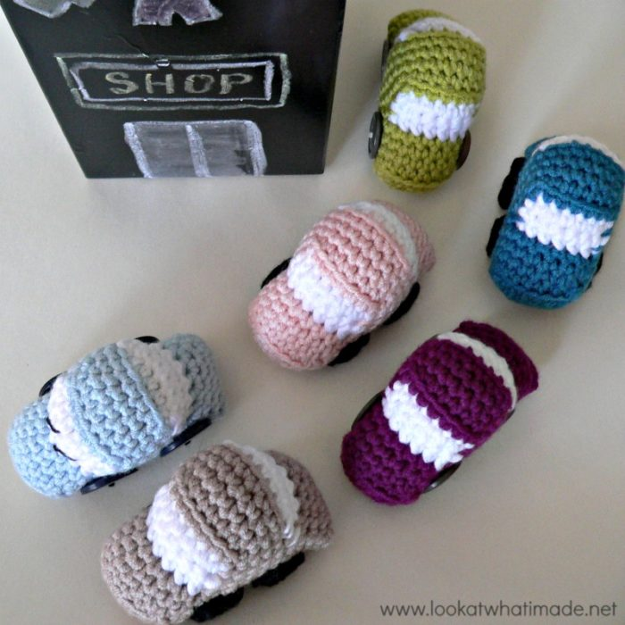Tiny Crochet Cars Pattern 6 Tiny Crochet Cars {Free Pattern}