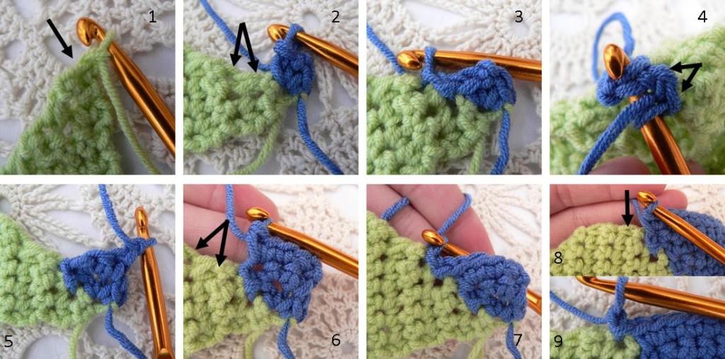 Ten Stitch Blanket Crochet Pattern