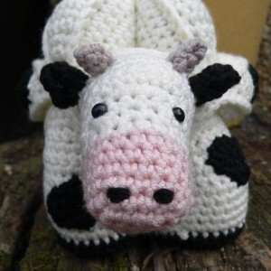 Chloe the Crochet Cow Puzzle Amamani