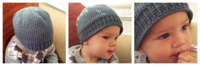 It it knit Hat True Crochet Stockinette:  The Waistcoat Stitch