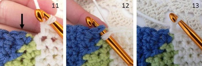 Middle Section Photos Ten Stitch Blanket Ten Stitch Blanket Crochet Pattern