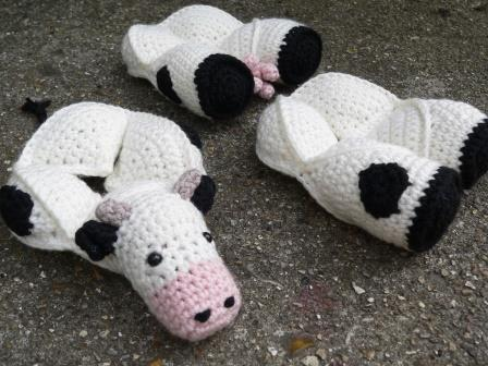 Amigurumi Patterns Cow : Chloe the crochet cow puzzle u look at what i made