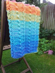 The Ripple Effect Baby Blanket (Knit Version)