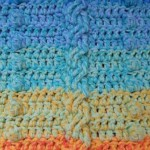 Cable and Bobble Stitch Crochet Blanket 11 150x150 Cable and Bobble Stitch Blanket (Lienkes Lovey)