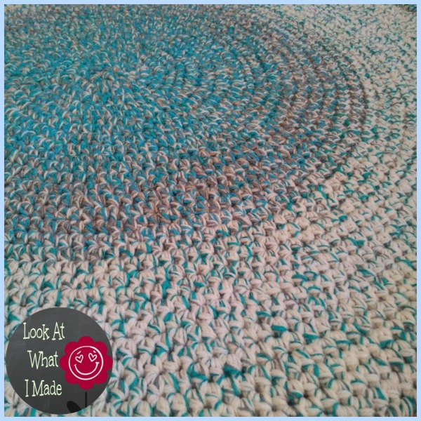 Crochet Round Rug ⋆ Look At What I Made