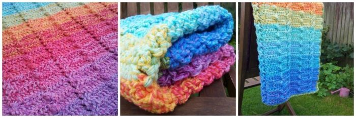 Lienke's Cable and Bobble Stitch Blanket