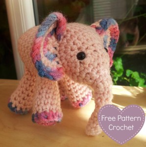 Mei Mei Crochet Elephant Featured 298x300 Free Baby Elephant Crochet Pattern