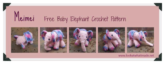 Baby Elephant Crochet Pattern