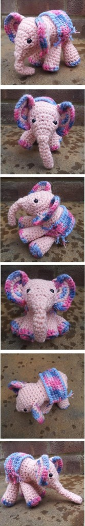 Meimei the Baby Elephant Crochet Pattern