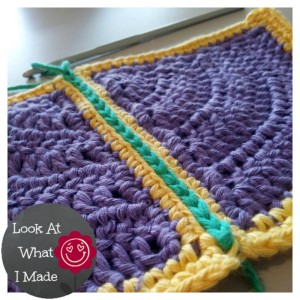 Join Granny Squares Surface Single Crochet