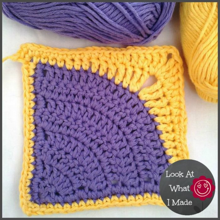 Iced Pie Square Dedri Uys Iced Pie Square Crochet Pattern