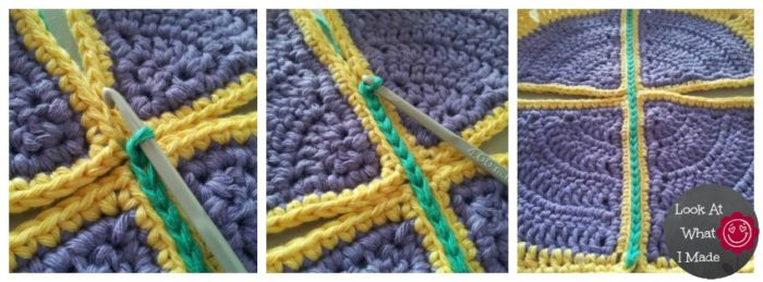 Crocheting Two Ends Together : How to Join Crochet Squares - Completely Flat Zipper Method - Loo...
