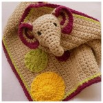 Crochet Elephant Lovie