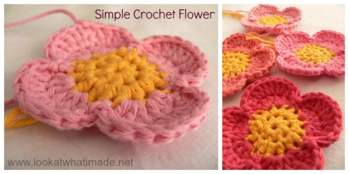 Simple Crochet Flower Free Pattern : crochet flower ball pattern amish puzzle ball free crochet ...