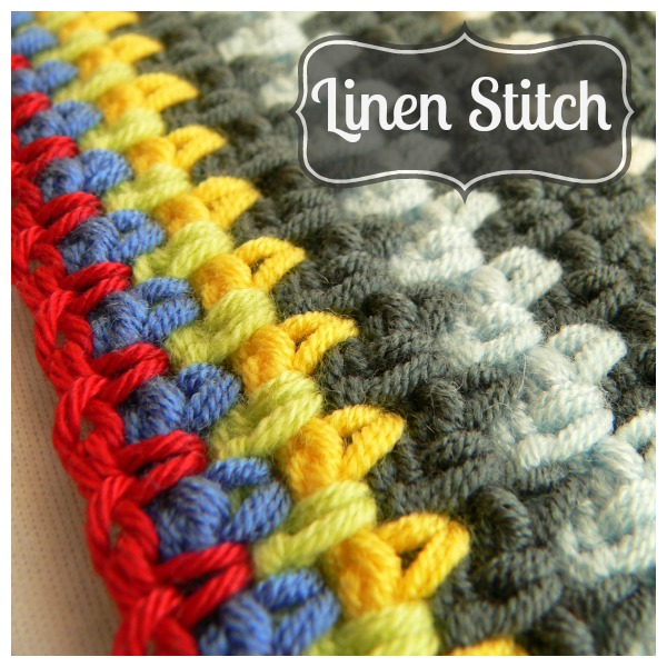... it is so much prettier than just regular old single crochet stitches