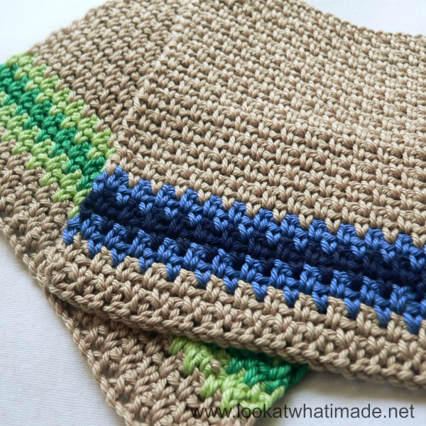 Crochet Stitches Net : ... find the pattern for the linen stitch lovie/dishcloth/whatever here