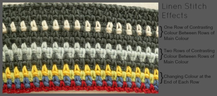 How To Crochet: Linen Stitch ⋆ Look At What I Made